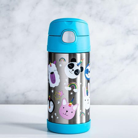 99007_Thermos_Double_Wall_Stainless_'Unicorn'_Insulated_Sport_Bottle