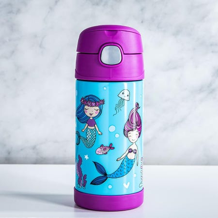 99008_Thermos_Double_Wall_'Mermaid'_Insulated_Sport_Bottle_with_Straw