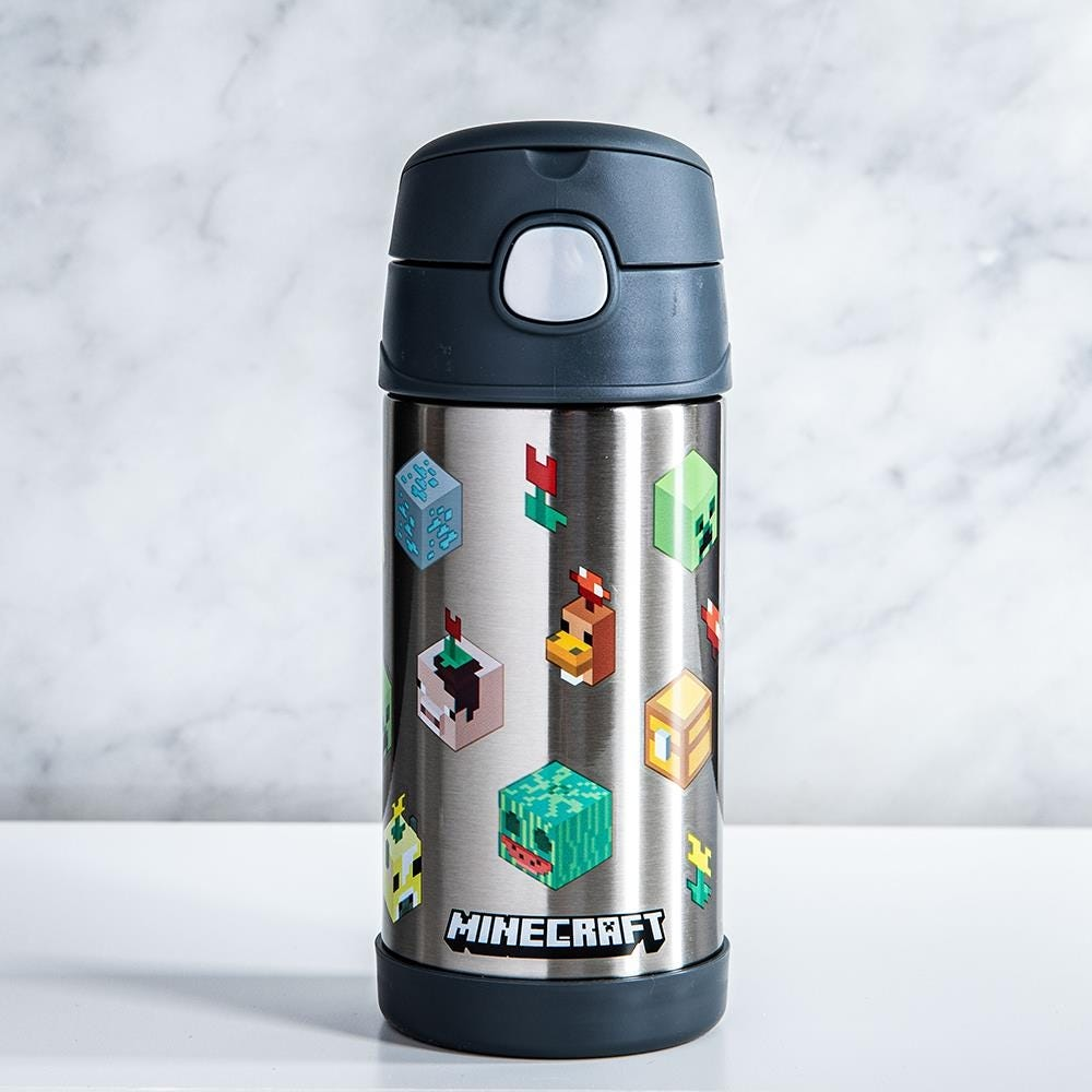 99011_Thermos_Double_Wall_'Minecraft_Creeper'_Funtainer_Sport_Bottle