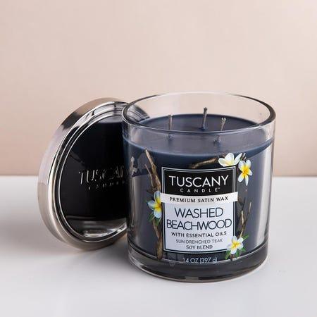 99015_Empire_Tuscany_'Washed_Beachwood'_3_Wick_Glass_Jar_Candle