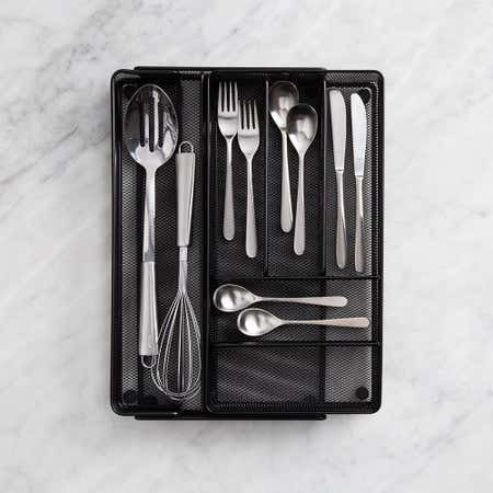 99025_KSP_Mesh_Expandable_Cutlery_Tray__Black