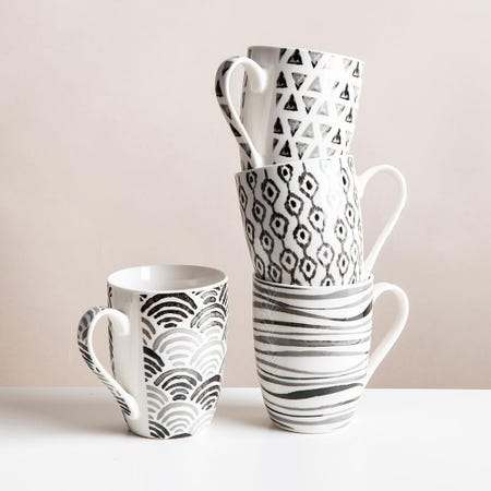 99035_KSP_Graphic_'Ikat'_Mug___Set_of_4__Grey