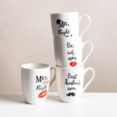 99038_KSP_Graphic_'Mr_and_Mrs'_Mug___Set_of_4__White_Black