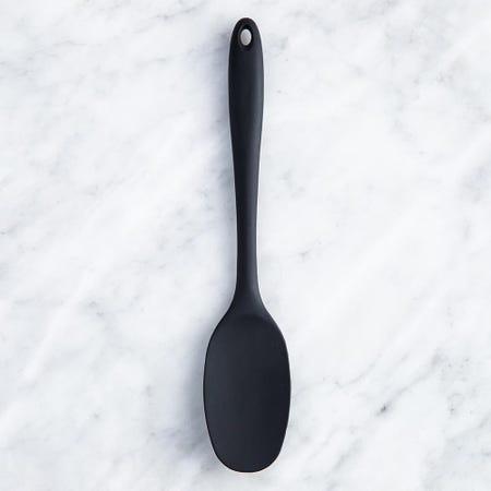 99046_KSP_Colour_Splash_Silicone_Utensil_Spoon__Black