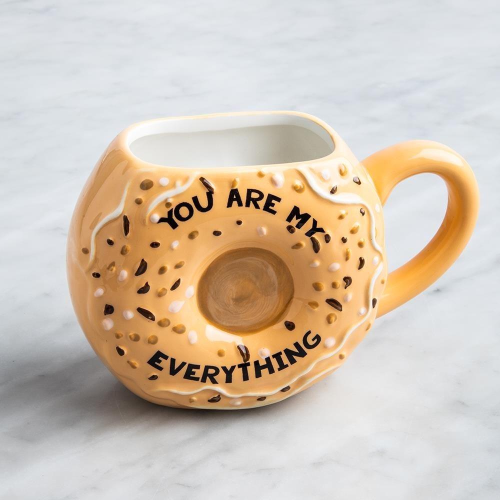 99054_Boston_Warehouse_'You're_My_Everything_Bagel'_Ceramic_Mug
