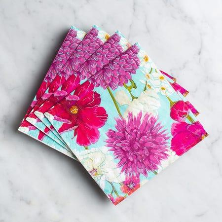 99072_Harman_3_Ply_'Floral'_Paper_Napkin__Multi_Colour