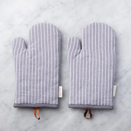 99098_Harman_Gourmet_'Chambray_Stripe'_Cotton_Oven_Mitt_Set_of_2__Charcoal