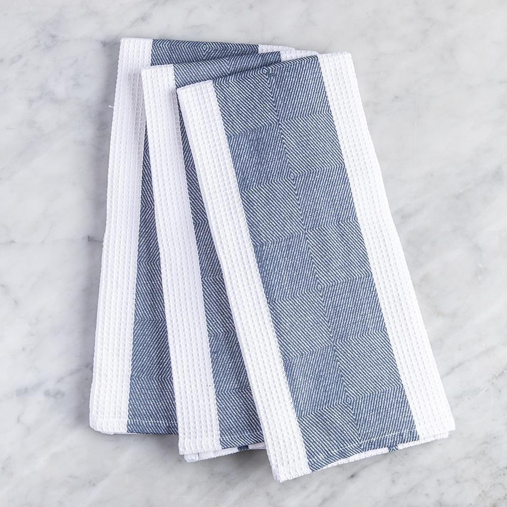 99111_Harman_Premium_Quality_'Blocks'_Kitchen_Towel___Set_of_3__Navy