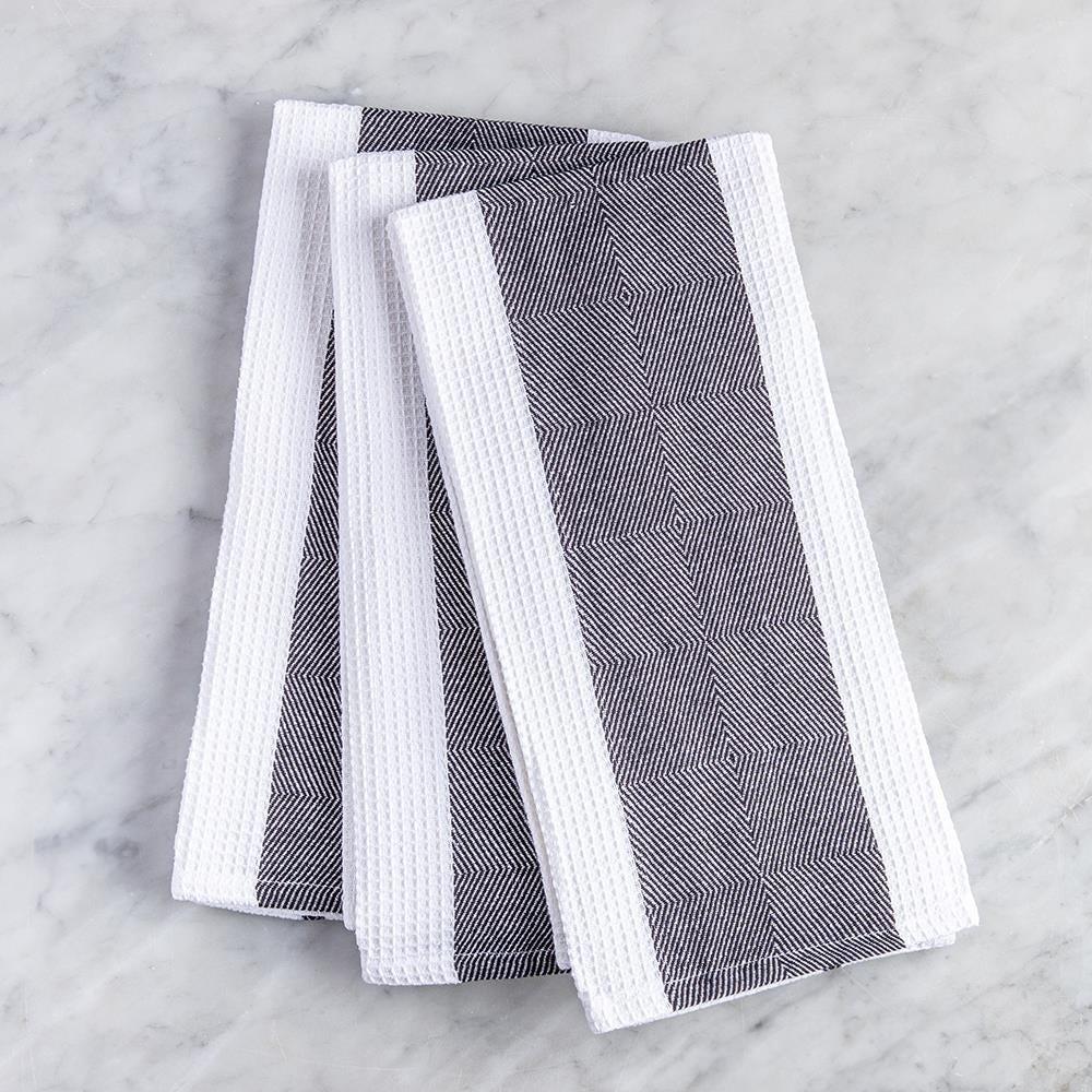 99112_Harman_Premium_Quality_'Blocks'_Kitchen_Towel___Set_of_3__Black