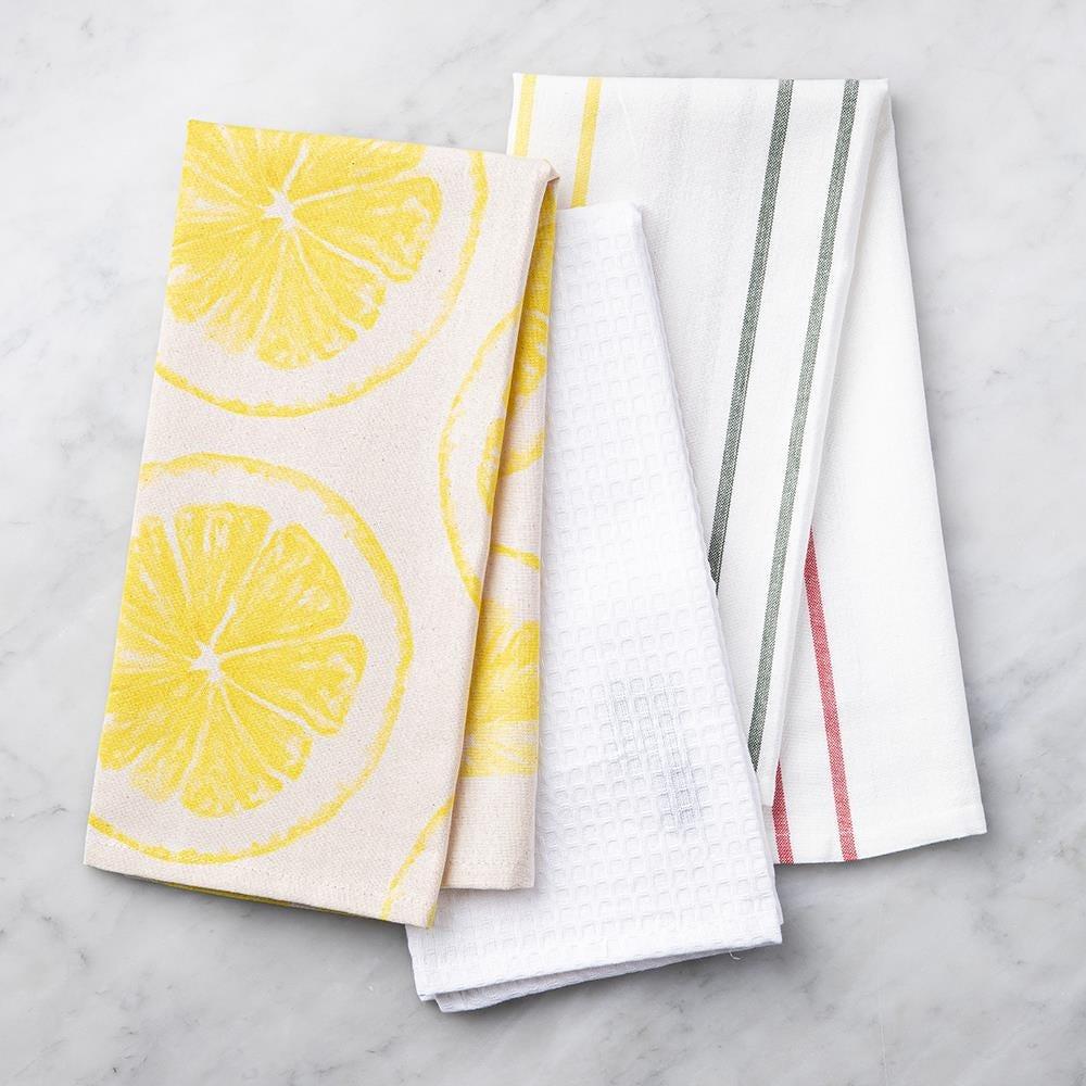 99114_Harman_Combo_'Market_Lemon'_Cotton_Kitchen_Towel___Set_of_3__Natural