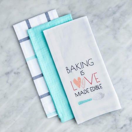 99121_Harman_Combo_'Baking_Is_Love'_Cotton_Kitchen_Towel___3_Pc_Set