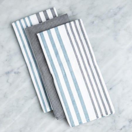99167_Harman_'Urban_Stripe'_Cotton_Kitchen_Towel_Combo___3_Pc_Set__Denim