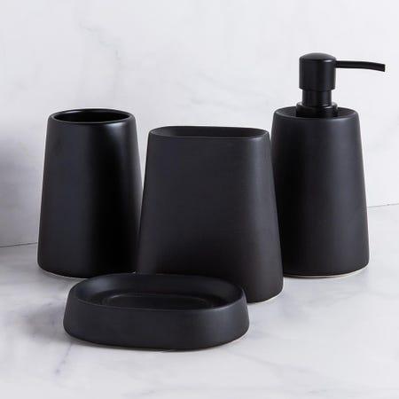99219_Moda_At_Home_Crater_Ceramic_Tumbler__Black
