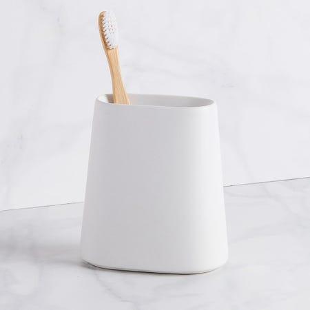 99225_Moda_At_Home_Crater_Ceramic_Toothbrush_Holder__White