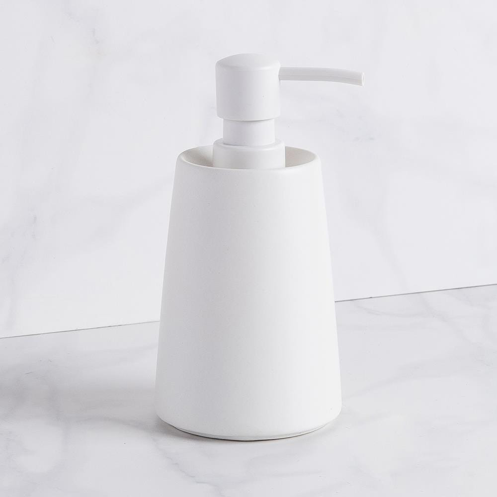 99226_Moda_At_Home_Crater_Ceramic_Soap_Pump__White