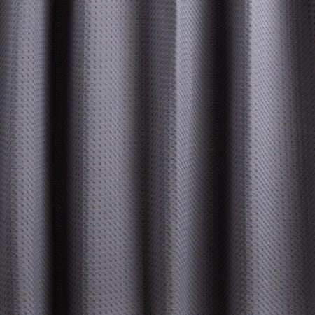 99227_Moda_At_Home_Belgian_Cotton_'Waffle'_Shower_Curtain__Grey