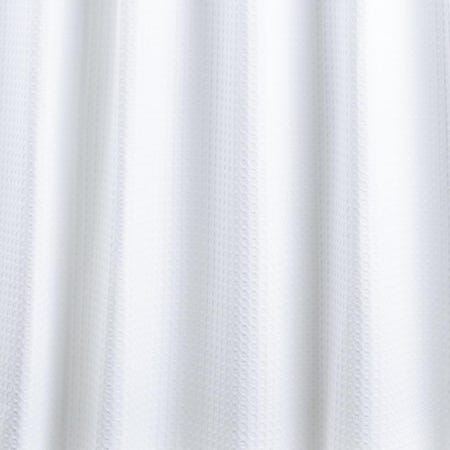 99228_Moda_At_Home_Belgian_Cotton_'Waffle'_Shower_Curtain__White