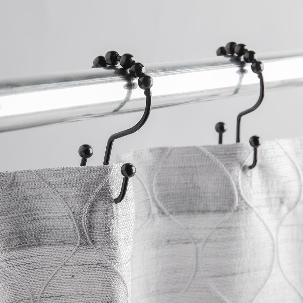 99238_Moda_At_Home_Annex_Double_Roll_Curtain_Ring___Set_of_12__Black