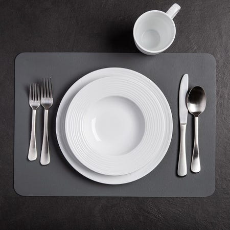 99327_Harman_Studio_Leather_Reversible_Vinyl_Placemat__Charcoal