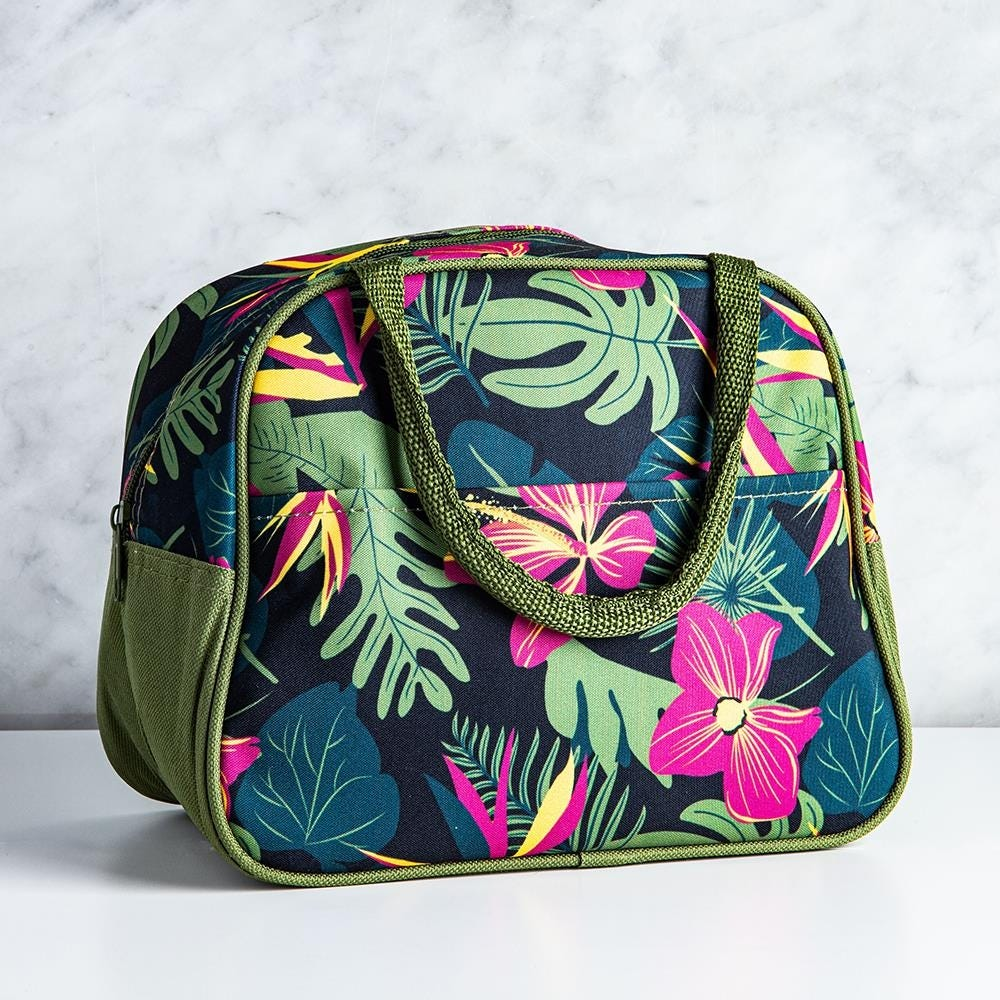 99350_KSP_Duffle_'Hibiscus'_Insulated_Lunch_Bag__Multi_Colour