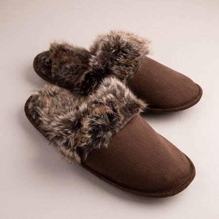 99383_Every_Sunday_Ultra_Soft_'Clog_Style'_Mem_Foam_Slippers_Women__Brown
