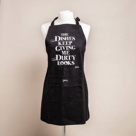 99395_Grimm_Phrase_'Dishes_Dirty_Looks'_100__Cotton_Apron__Black