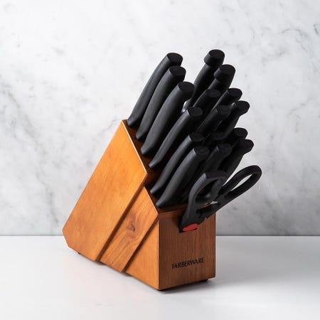 99432_Farberware_Forever_Sharp_Wood_Knife_Block_Combo___Set_of_20__Natural