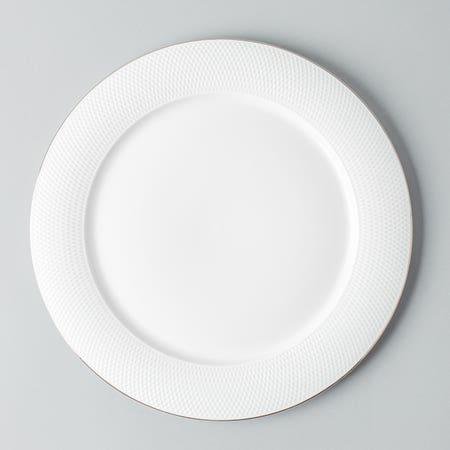 99465_KSP_A_La_Carte_'Diamond_Platinum'_Porcelain_Dinner_Plate__White