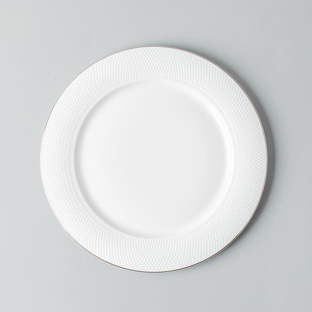 KSP A La Carte 'Diamond Platinum' Porcelain Side Plate