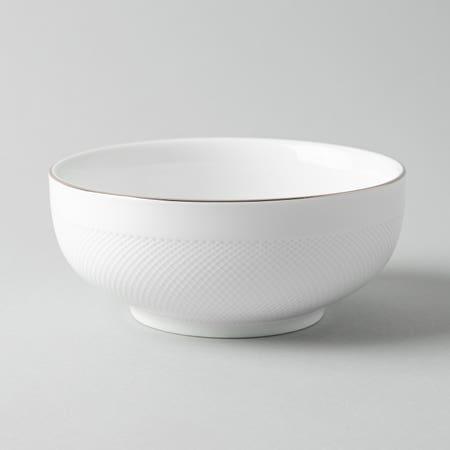 99467_KSP_A_La_Carte_'Diamond_Platinum'_Porcelain_Cereal_Bowl__White