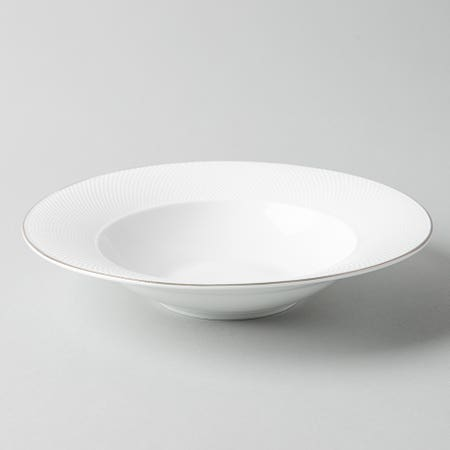 99468_KSP_A_La_Carte_'Diamond_Platinum'_Porcelain_Soup__Pasta_Plate__White