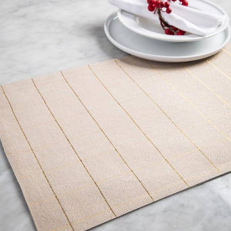 99530_Harman_Christmas_Soft_Check_Cotton_Placemat__Natural