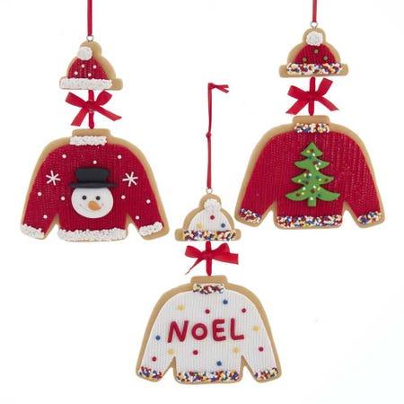 99591_Kurt_Adler_Christmas_'Claydough_Cookie_Sweater'_Ornament