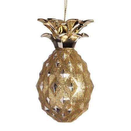 99592_Kurt_Adler_Christmas_'Pineapple'_Ornament__Gold