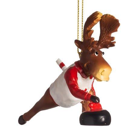 99609_Christmas_Deco__'Canadian_Moose_Curling'_Ornament