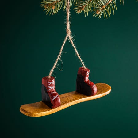 99616_Christmas_Tradition_'Snowboard_with_Boots'_Ornament
