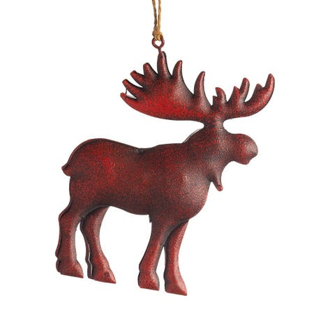 99634_Christmas_Tradition_'Rustic_Moose'_Ornament__Red