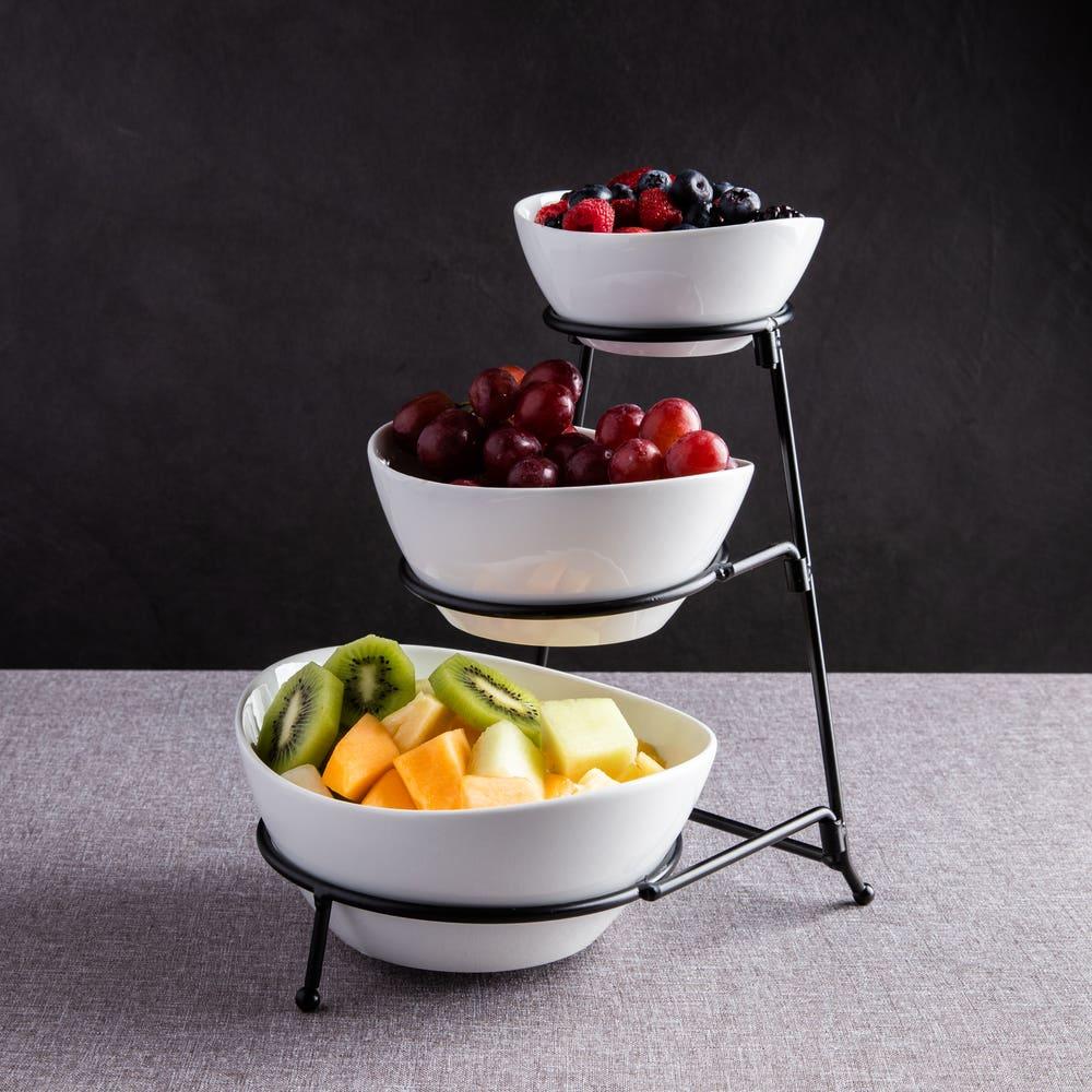 KSP Strata Porcelain Buffet Bowl (White)