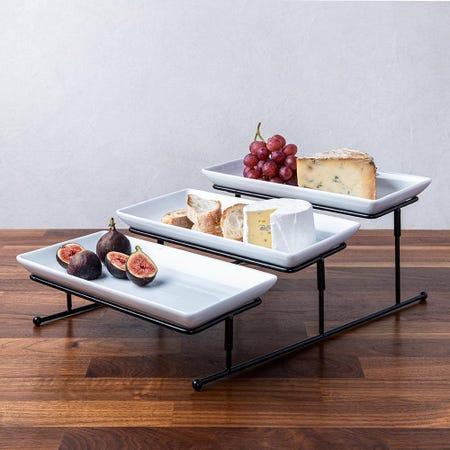 99638_KSP_Strata_'3_Tier'_Porcelain_Buffet_Plate__Rectangular