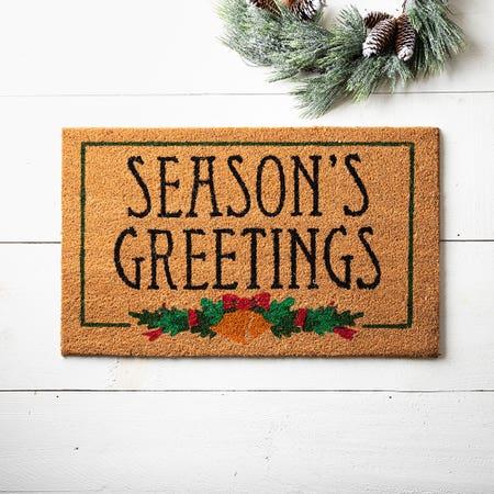 99658_KSP_Christmascoir_'Season'S_Greetings'_Coir_Doormat