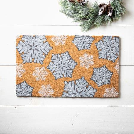99659_KSP_Christmascoir_'Snowflake'_Coir_Doormat