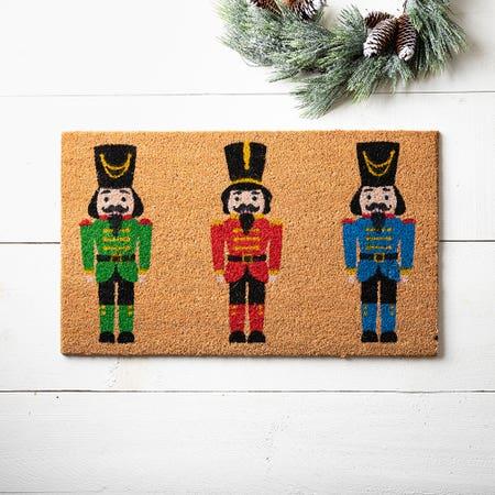 99660_KSP_Christmascoir_'Nutcracker'_Coir_Doormat