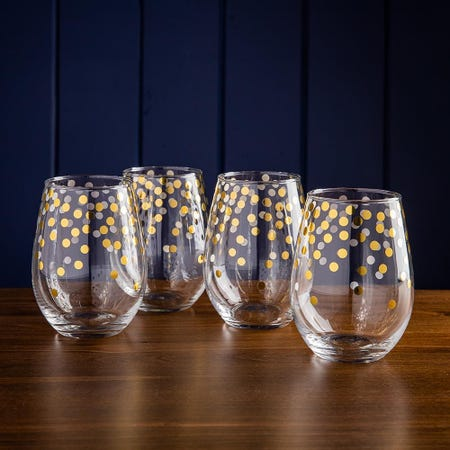 99745_KSP_Christmas_Cheers_'Celebrate'_Stemless_Wine_Glass___Set_of_4