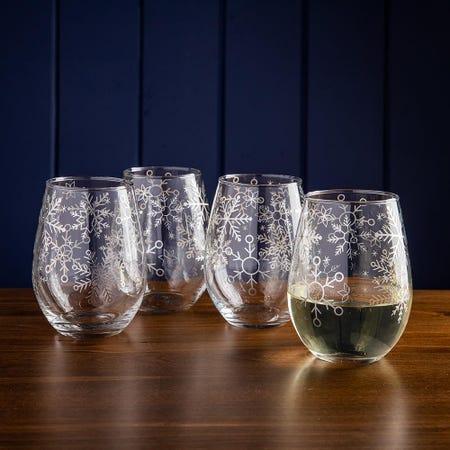 99746_KSP_Christmas_Cheers_'Snowfall'_Stemless_Wine_Glass___Set_of_4