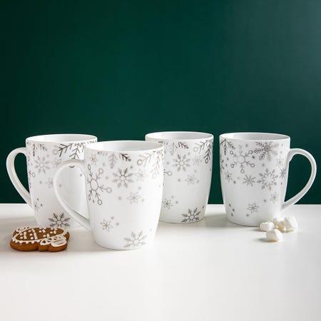 99763_KSP_Christmas_Decal_'Snowfall'_Porcelain_Mug___Set_of_4