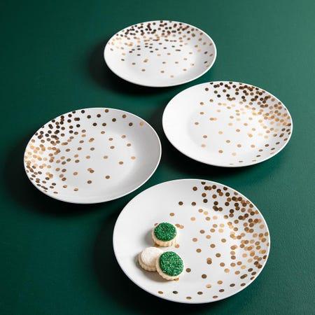 99766_KSP_Christmas_Decal_'Celebrate'_Porcelain_Side_Plate___Set_of_4