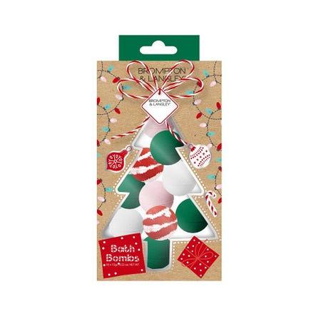 99791_Brompton___Langley_Christmas_Stocking_Stuffer_'Tree'_Bath_Bomb_Fizzer
