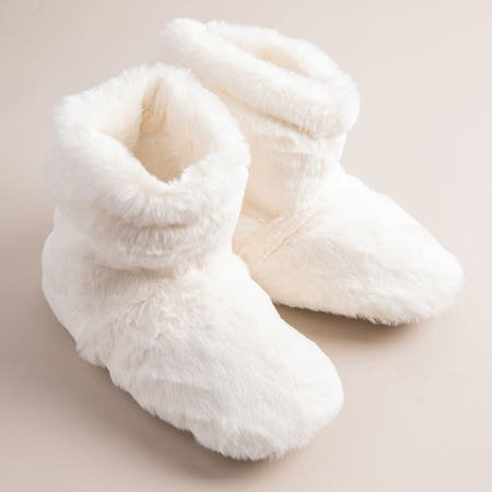 99798_Aroma_Home_Luxury_Warming_Booties___Set_of_2__Cream