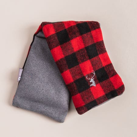99802_Aroma_Home_Buffalo_Check_Neck_Wrap__Red_Black
