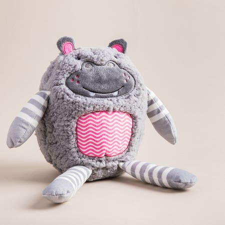 99810_Aroma_Home_Hug_A_Snug_'Hippo'_Microwaveable_Body_Warmer